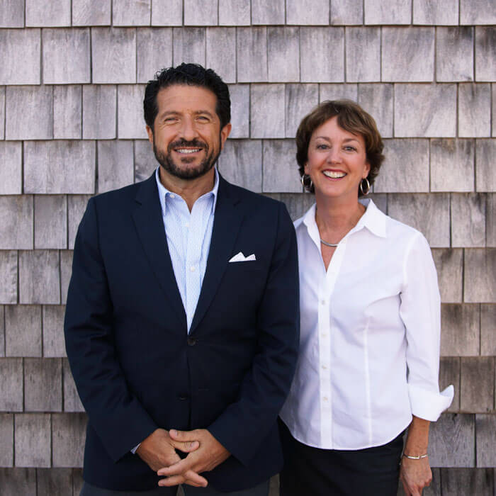 Francis and Colleen Acunzo, CEO and Managing Partner of Reach Beyond Marketing